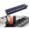 USB 2.0 Hi-Speed Hub 7 Port - Supports 500GB
