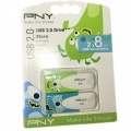 PNY Pendrive 8GB x 2 db USB Flash Drive 2.0 Make Life Simple