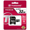 Transcend Micro SD 32gb with sd adapter (TS32GUSDHC10) CLASS10