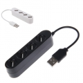 USB Hub 4 Port High Speed USB 2.0 USB HUB Mini P-1020