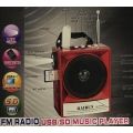MP3 MINI-SPEAKER KR-2552UAT FM RADIO
