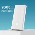 Power Bank 20000mAh, Dupla USB-portos kiment ( Fehér )