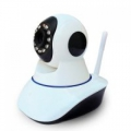 Wifi IP Camera forgatható,éjjellátó, Wifi IP Camera Mobiltelefon intelligens hálózati kamera DC5V / 2A Intercom Camera