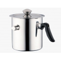 Bachmayer tejforraló fedővel 2l BM-1501 Double Wall Whisting Milk Pot