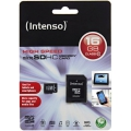 Intenso microSDHC card 16 GB High Performance Class 10 +.SD adapter