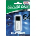 Platinum Pendrive  64GB USB Stick 3.0 Alu 177496S