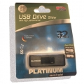 Platinum Pendrive 32GB Slider ultra high performance USB 3.0  / 177712 /