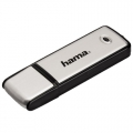 Hama Fancy USB pendrive, 64GB, USB 2.0, Fekete/Ezüstszürke