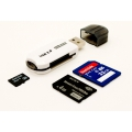 USB 2.0 480 Mbps MicroSDHC SD SDXC UHS-I Memory Card Reader 32in1