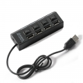 USB 2.0 Hi-Speed Hub 4 Port  - Supports 500GB