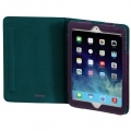 "Hama ""Lissabon"" Portfolio for Apple iPad Air, purple/petrol 00104648"
