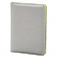 "Hama ""Lissabon"" Portfolio for Apple iPad Air, silver/green 00104647"
