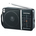 Rádió LEOTEC LT-606B FM/MW/SWI/SW2  4 BAND HIGH SENSITIVITY RADIO