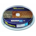 TRAXDATA M-DISC DVD-M 4,7GB 4X 10 PACK WHITE INKJET PRINTABLE