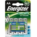 Energizer AA 2300 mAh Extreme Rechargeable Battery Pack 4 ( 6 X longer )