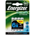 Energizer AAA 800 mAh Extreme Rechargeable Battery Pack 4 ( 6 X longer )