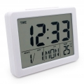 Digitális Időjárás LCD Digital Alarm Clock Weather Station Alarm Clock Digital Alarm Clock SN(2619)