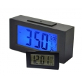 Digitális Időjárás Állomás Snooze/ Light Digital LED Snooze Alarm Date Desk Clock LCD Screen Display Backlight Sensor