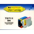 Epson Inkjet Cartridge TO-711 BLACK