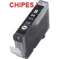 Canon CHIPES CLI-8Bk, Black (utángyártott) Inkjet Cartridge