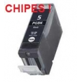 Canon CHIPES PGI-5Bk, Black (utángyártott) Inkjet Cartridge