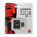 KINGSTON microSDHC 32GB class10   (SDC10/32GB +adapter)