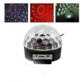 Disco fény LED Magic Ball Light 18W-24W with Remote Control 480 STRONG Beam Light