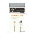 For Micro USB Dock Connector to USB Cable SJX-1023 ( USB--MICRO USB)