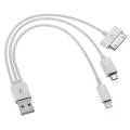 Universal Multi USB Charger Cable For iPhone 3gs 4 4s 5 - MICRO USB New 3 in 1