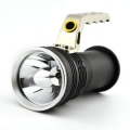 Cree Led High Power Searchlight Max 800 Lumens Led Flashlight (Black)Tölthető zseblámpa 2elemmel GREE XML T6
