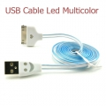 USB Cable Led Multicolor Iphone 4/4s ( színváltós )