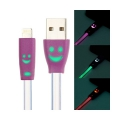 USB Cable Led Multicolor Iphone 5/5S/6/6S/6+/ IPAD/,  ( színváltós )
