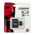 Kingston MICRO SDHC MEMORY CARD 8GB CLASS 10