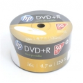 HP DVD+R 4.7GB 16X WHITE FF  InkJet Printable SP*50