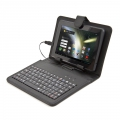OMEGA TABLET KEYBOARD WITH PROTECTIVE CASE BLACK MICRO USB