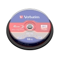 VERBATIM BD-RE BLU-RAY 25GB 2X CAKE*10 43694