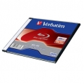 VERBATIM BD-RE BLU-RAY 25GB SLIM 43768